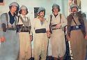 Iran 1979 .Iraqi peshmeergas near Baneh  .Iran 1979  .Peshmergas irakiens dans la region de Baneh