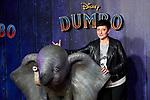 Eva Hache attends to Dumbo premiere at Principe Pio Theatre in Madrid, Spain. March 27, 2019. (ALTERPHOTOS/A. Perez Meca)