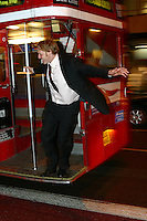 Steve Peat in London November 2002.pic copyright Steve Behr / Stockfile