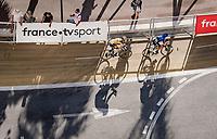 final kilometer for Domenico Pozzovivo (ITA/NTT) & George Bennett (NZL/Jumbo Visma)<br /> <br /> Stage 2 from Nice to Nice (186km)<br /> <br /> 107th Tour de France 2020 (2.UWT)<br /> (the 'postponed edition' held in september)<br /> <br /> ©kramon