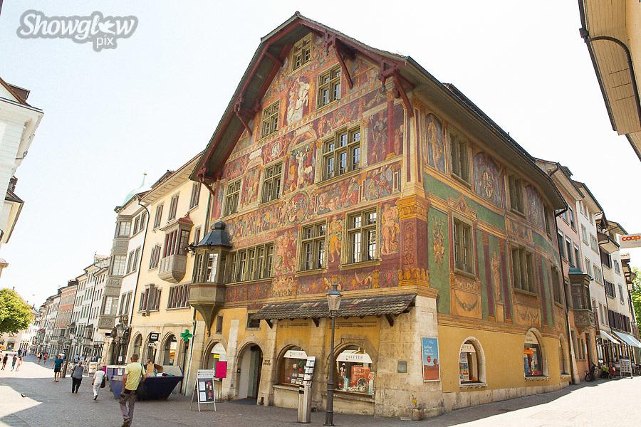 Image Ref: SWISS052<br /> Location: Schaffhausen, Switzerland<br /> Date of Shot: 20th June 2017