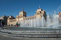 plaza zorilla academia de caballeria Valladolid spain castile and leon