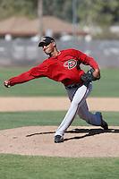 Victor Capellan - Arizona Diamondbacks - 2009 spring training.Photo by:  Bill Mitchell/Four Seam Images