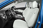 Front seat view of 2022 Hyundai Kona-Electric Limited 5 Door SUV Front Seat  car photos