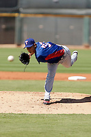 Martin Perez - Texas Rangers 2009 Instructional League.Photo by:  Bill Mitchell/Four Seam Images..