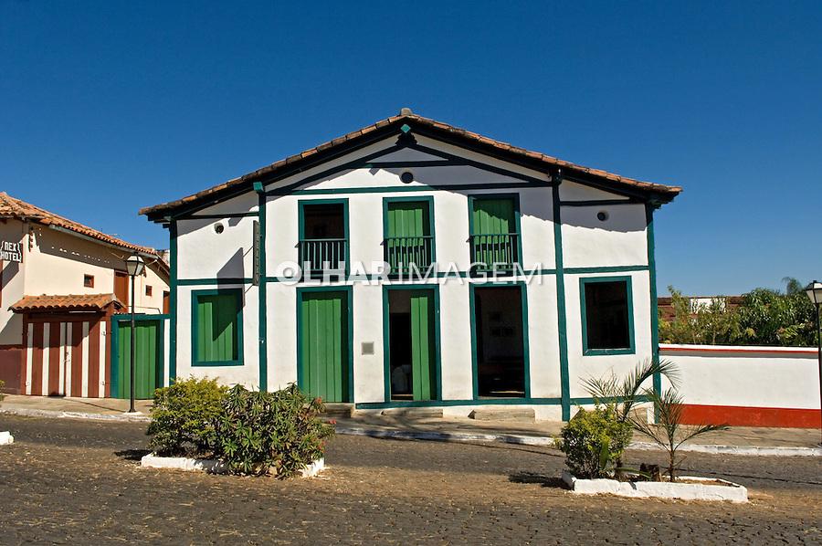 Theatro Pyrenópolis em Pirenópolis. Goiás. 2007. Foto de João Caldas.
