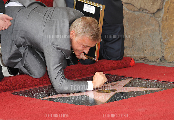 Christoph Waltz at Hollywood Walk of Fame ceremony honoring Christoph Waltz with the 2,536th star on the Walk of Fame.<br /> December 1, 2014  Los Angeles, CA<br /> Picture: Paul Smith / Featureflash