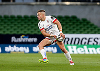 Saturday 29 August 2020 | Ulster vs Leinster<br /> <br /> Ian Madigan during the Guinness PRO14 inter-pro  match between Ulster and Leinster at the Aviva Stadium, Lansdowne Road, Dublin, Ireland. Photo by John Dickson / Dicksondigital