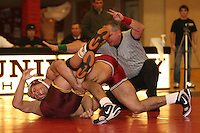 STANFORD, CA - FEBRUARY 6:  157 pounds Lucas Espericueta of the Stanford Cardinal during Stanford's 20-19 win against the Arizona State Sun Devils on February 6, 2009 at Burnham Pavilion in Stanford, California.
