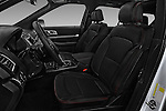 Front seat view of 2017 Ford Explorer Sport 5 Door Suv Front Seat  car photos