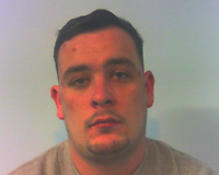 """Pictured: Shane Peter Powell<br /> Re: Shane Peter Powell and Dwayne Godfrey O'Rourke-Fuller who played a part in a courier fraud scam following a detailed two-year police investigation, have been jailed by Merthyr Tydfil Crown Court, Wales, UK.<br /> The pair were believed to have formed part of a wider network of scammers who cold-called potential victims and claimed to be police officers.<br /> They were arrested by Dyfed-Powys Police as they arrived at an elderly woman's Brecon home in March 2019 after she had been convinced over the phone to withdraw £4,000 from her bank account.<br /> The victim had received a phone call from a man claiming to be a police officer investigating a fraud offence. She was told her bank card had been used to withdraw £600 and that a man had been arrested – with the caller giving false police badge and crime reference numbers over the phone.<br /> DC Damian Gillespie, officer in case, said: """"The victim raised concerns that the call was a scam, and in an effort to convince her he was truly a police officer, the caller reassured her that she could phone 999 for confirmation.<br /> """"She did this, but as the phone line was not disconnected between calls, she was still speaking with the suspect, who managed to convince her the named officer and fraud team did exist.""""<br /> Having gained her trust, the caller asked the victim to support a fraud investigation by withdrawing £4,000 from her bank account. The scammer went as far as instructing her to say the money was for home renovations if she was questioned.<br /> After taking the money out of her account, the victim was asked to read the serial numbers from three notes. She was told they were """"duffs"""" and needed to be examined by officers.<br /> """"Thankfully, she became so concerned that she told a family member about the incident, who reported it to police,"""" DC Gillespie said.<br /> """"Their good judgement in reporting it immediately to us gave officers a chance to intercept the suspects as"""