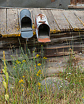 Elkhorn Ghost Town Mailboxes