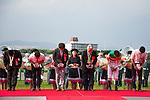 TAKARAZUKA,JAPAN-JUNE 26: The connections of Marialite attend the winning ceremony after winning the Takarazuka Kinen at Hanshin Racecourse on June 26,2016 in Takarazuka,Hyogo,Japan (Photo by Kaz Ishida/Eclipse Sportswire/Getty Images)