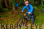 Anluan Dunne of Mountain Biking Kerry at the Nuns Wood in Collis Sandes, which is one of the sites proposed for the Urban Mountain Biking Park including competition grade Pump track.
