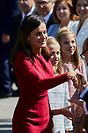 Queen Letizia of Spain visit Covadonga, Spain. September 08, 2018. (ALTERPHOTOS/A. Perez Meca)