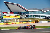 18th July 2021; Silverstone Circuit, Silverstone, Northamptonshire, England; F2 British Grand Prix, Race Day;  08 Vips Juri (est), Hitech Grand Prix, Dallara F2