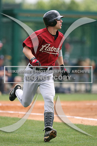 March 23rd 2008:  Eric Taylor of the Houston Astros minor league system during Spring Training at Disney's Wide World of Sports in Orlando, FL.  Photo by:  Mike Janes/Four Seam Images