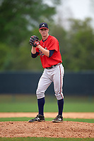 Atlanta Braves Ryan Clark (74) during an intrasquad Spring Training game on March 29, 2016 at ESPN Wide World of Sports Complex in Orlando, Florida.  (Mike Janes/Four Seam Images)