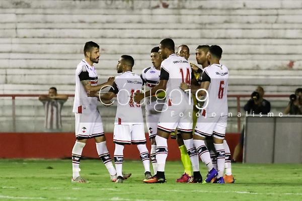 Recife (PE), 23/01/2020 - Náutico-River - Partida entre Náutico e River-PI pela Copa do Nordeste nesta quinta-feira (23) no estádio dos Aflitos em Recife.