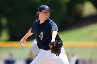 Starting pitcher Lucas Harrell #33 of the Charlotte Knights in action against the Louisville Bats at Knights Stadium July 20, 2010, in Fort Mill, South Carolina.  Photo by Brian Westerholt / Four Seam Images