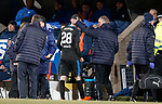 27.02.18 St Johnstone v Rangers:<br /> Jamie Murphy consoled by Jimmy Nicholl