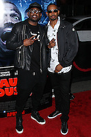 """LOS ANGELES, CA, USA - APRIL 16: Omar Epps, Damon Wayans Jr. at the Los Angeles Premiere Of Open Road Films' """"A Haunted House 2"""" held at Regal Cinemas L.A. Live on April 16, 2014 in Los Angeles, California, United States. (Photo by Xavier Collin/Celebrity Monitor)"""