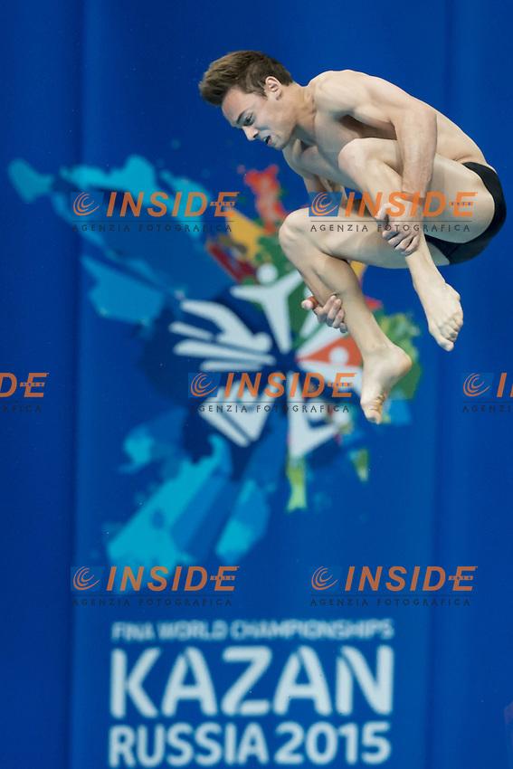 DALEY Thomas GBR<br /> 10m. Platform Men preliminaries<br /> Day09 01/08/2015 Tuffi - Diving Aquatic Palace <br /> XVI FINA World Championships Aquatics Swimming<br /> Kazan Tatarstan RUS July 24 - Aug. 9 2015 <br /> Photo G.Scala/Deepbluemedia/Insidefoto