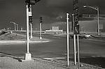 1973 Albuquerque, New Mexico. Interstate 25 access.