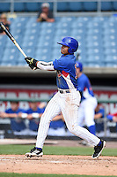 Nick Plummer (11) of Brother Rice High School in Lathrup Village, Michigan playing for the Chicago Cubs scout team during the East Coast Pro Showcase on July 31, 2014 at NBT Bank Stadium in Syracuse, New York.  (Mike Janes/Four Seam Images)