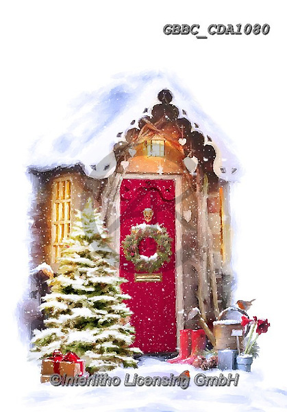 Barry, CHRISTMAS LANDSCAPES, WEIHNACHTEN WINTERLANDSCHAFTEN, NAVIDAD PAISAJES DE INVIERNO, paintings+++++,GBBCCDA1080,#xl#