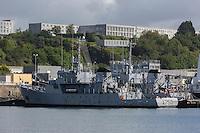 France, Bretagne, (29), Finistère, Brest:   Base Navale et Arsenal de Brest , le port militaire, Bâtiment école