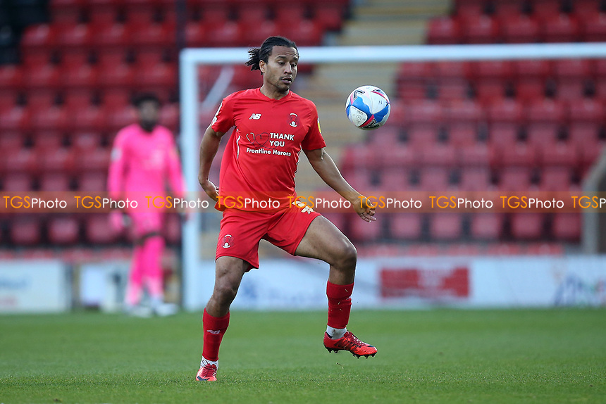 Joe Widdowson of Leyton Orient during Leyton Orient vs Crawley Town, Sky Bet EFL League 2 Football at The Breyer Group Stadium on 19th December 2020