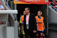 Fifa Women's World Cup Germany 2011 : England - France - at Leverkusen : Bruno Bini.foto DAVID CATRY / Vrouwenteam.be