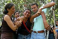 Enterro de irmã Dorothy.<br /> Anapú, Pará, Brasil.<br /> Foto Paulo Santos<br /> 15/02/2005