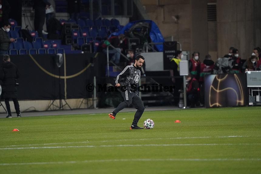 Amin Younes (Deutschland Germany) - 25.03.2021: WM-Qualifikationsspiel Deutschland gegen Island, Schauinsland Arena Duisburg