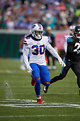 Buffalo Bills Lafayette Pitts (30) during an NFL Wild-Card football game against the Jacksonville Jaguars, Sunday, January 7, 2018, in Jacksonville, Fla.  (Mike Janes Photography)