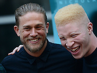 Charlie Hunan + Shaun Ross @ the premiere of 'Equals' held @ the Arclight theatre. July 7, 2016