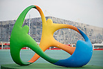 Rio 2016.<br /> The Rio 2016 logo in the Paralympic Park // Le logo Rio 2016 dans le parc paralympique. 03/09/2016.
