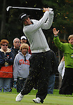 4 October 2008: Jeff Overton hits a tee shot during the third round at the Turning Stone Golf Championship in Verona, New York.