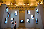 Video portraits di Robert Wilson a Palazzo Madama. Novembre 2012.