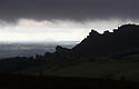 13/09/17<br /> <br /> Clouds shroud Ramshaw Rocks between Leek and Buxton as storm Aileen blows into give the Derbyshire Peak District  good soaking.<br /> <br /> <br /> All Rights Reserved F Stop Press Ltd. (0)1773 550665 www.fstoppress.com