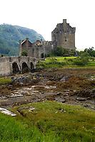 Eileen Donan Castle in Western Dornie, Highlands, Scotland