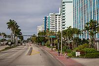 Miami, Florida.  Collins Avenue, North Beach.