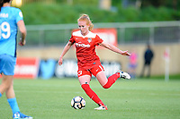 Boyds, MD - Saturday May 6, 2017: Tori Huster during a regular season National Women's Soccer League (NWSL) match between the Washington Spirit and Sky Blue FC at Maureen Hendricks Field, Maryland SoccerPlex.