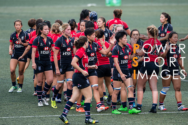 Dragons vs Lions during the Women's National Super Series 2017 on 13 May 2017, in Hong Kong Football Club, Hong Kong, China. Photo by Marcio Rodrigo Machado / Power Sport Images