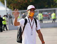 12th September, September 2021; Nationale di Monza, Monza, Italy; FIA Formula 1 Grand Prix of Italy, Race day; Daniel Ricciardo AUS 3, McLaren F1 Team