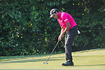 S.S.P. Chawrasia of India lines up a putt during the day four of UBS Hong Kong Open 2017 at the Hong Kong Golf Club on 26 November 2017, in Hong Kong, Hong Kong. Photo by Marcio Rodrigo Machado / Power Sport Images