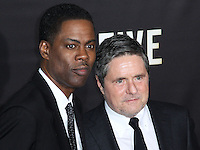 NEW YORK CITY, NY, USA - DECEMBER 03: Chris Rock, Brad Grey arrive at the New York Premiere Of 'Top Five' held at the Ziegfeld Theatre on December 3, 2014 in New York City, New York, United States. (Photo by Celebrity Monitor)