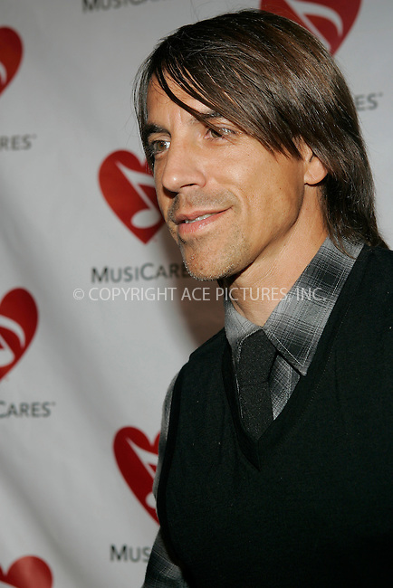 WWW.ACEPIXS.COM . . . . .....May 9, 2008. Los Angeles, CA....Musician Anthony Kiedis of the Red Hot Chili Peppers arrives at the 4th Annual MusiCares MAP Fund Benefit Concert at The Music Box...  ....Please byline: Joe West - ACEPIXS.COM..... *** ***..Ace Pictures, Inc:  ..Philip Vaughan (646) 769 0430..e-mail: info@acepixs.com..web: http://www.acepixs.com
