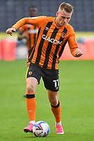 Hull City's James Scott<br /> <br /> Photographer Dave Howarth/CameraSport<br /> <br /> The EFL Sky Bet League One - Hull City v Crewe Alexandra - Saturday 19th September 2020 - KCOM Stadium - Kingston upon Hull<br /> <br /> World Copyright © 2020 CameraSport. All rights reserved. 43 Linden Ave. Countesthorpe. Leicester. England. LE8 5PG - Tel: +44 (0) 116 277 4147 - admin@camerasport.com - www.camerasport.com